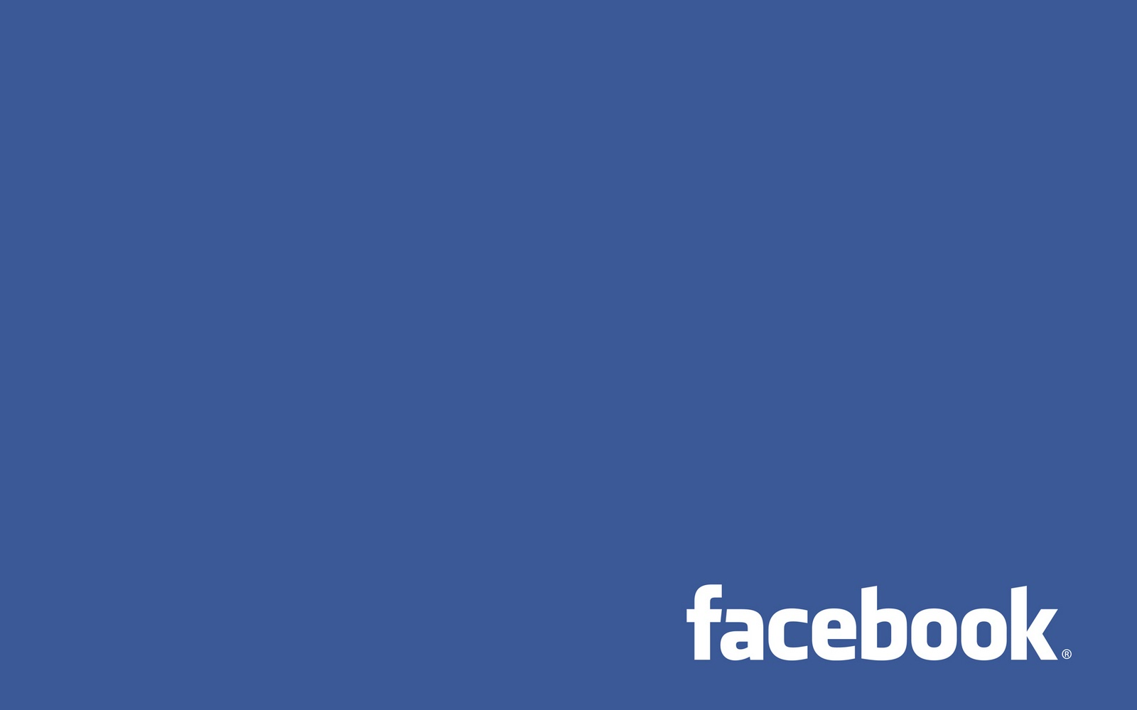 Facebook big blue